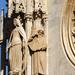 Bécs- Szent István Dóm - részlet a nyugati homlokzatról