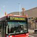 Katalán zászló minden buszon vol