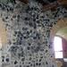 Somoskői vár, bazaltoszlopok a várfalban